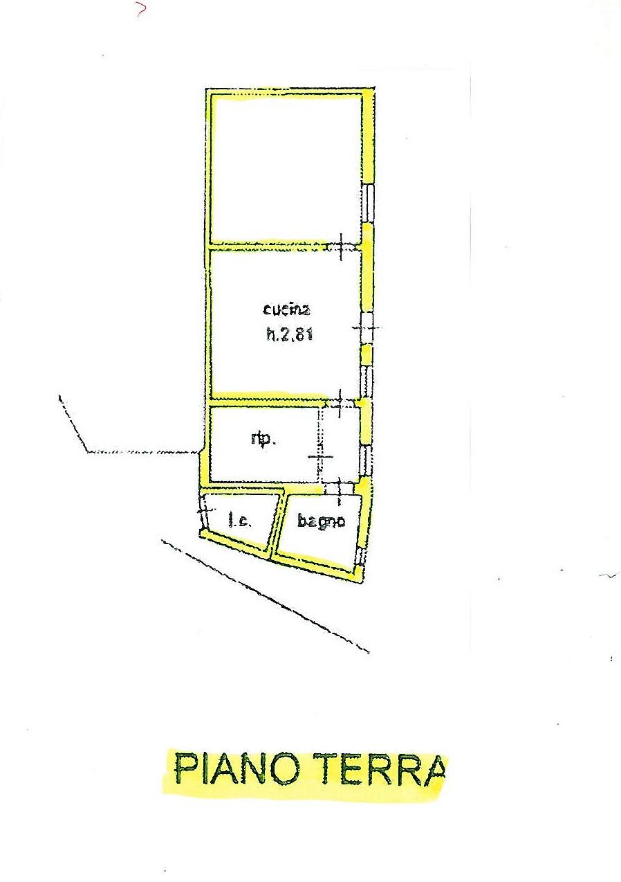 Planimetria 1/1 per rif. S1132