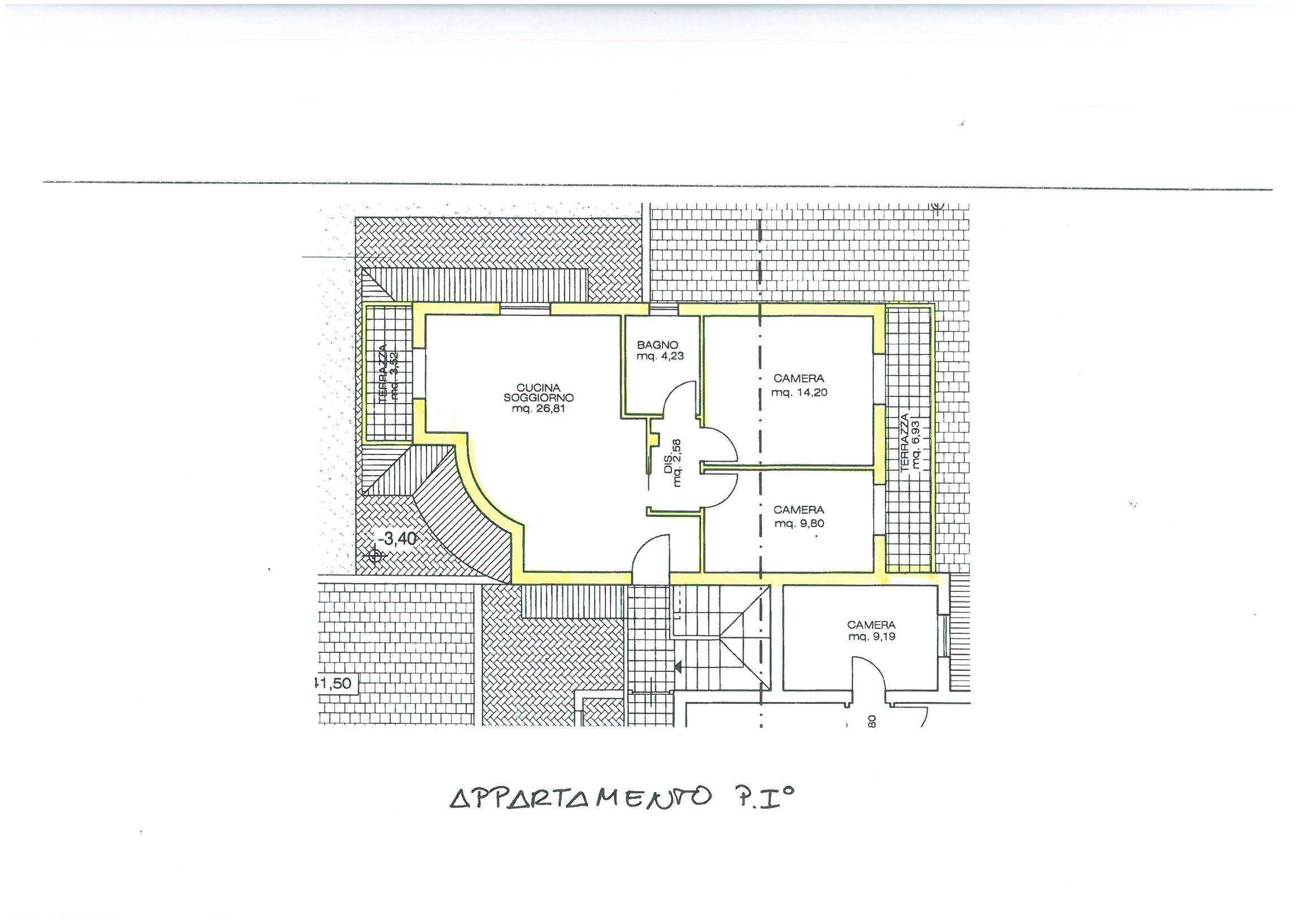 Planimetria 1/1 per rif. S1214