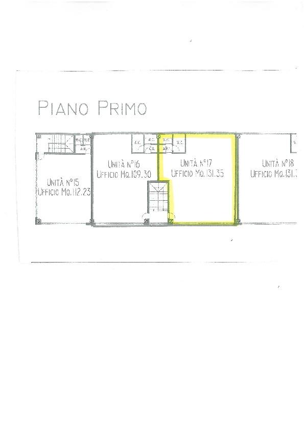 Planimetria 1/1 per rif. B2651