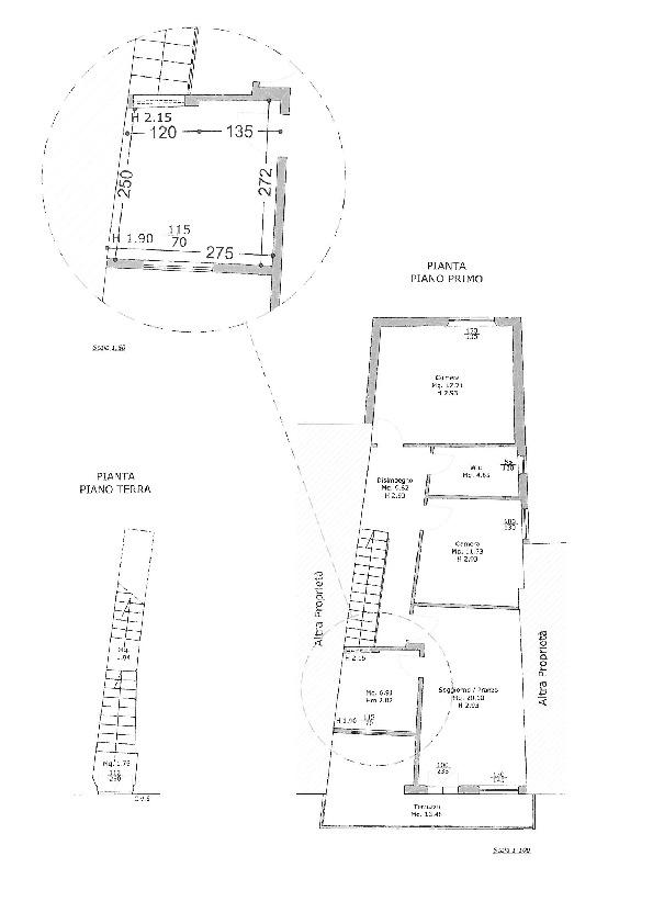 Planimetria 1/1 per rif. B2677