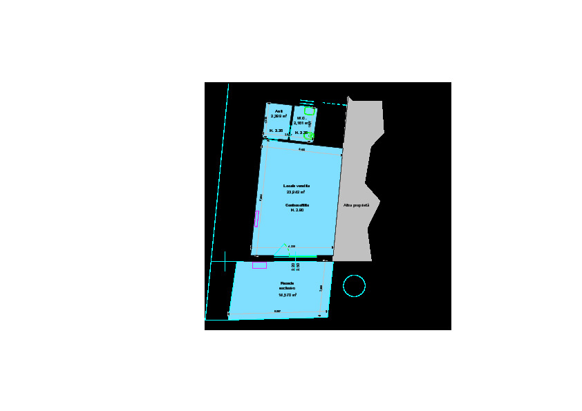 Planimetria 1/1 per rif. B2779