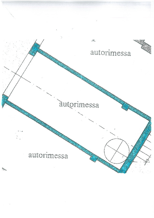 Planimetria 2/2 per rif. S1422