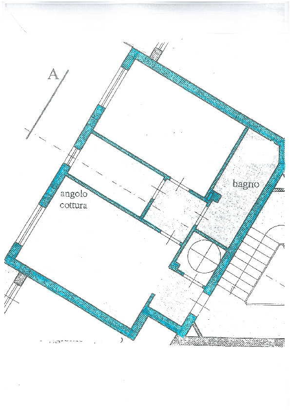 Planimetria 1/2 per rif. S1422