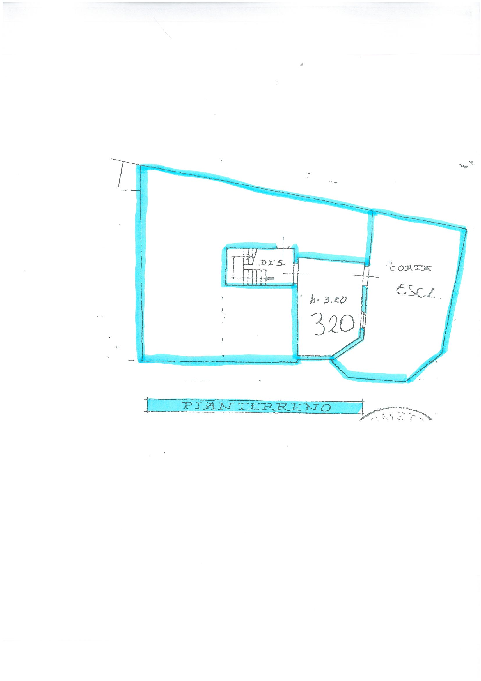 Planimetria 2/2 per rif. S1444