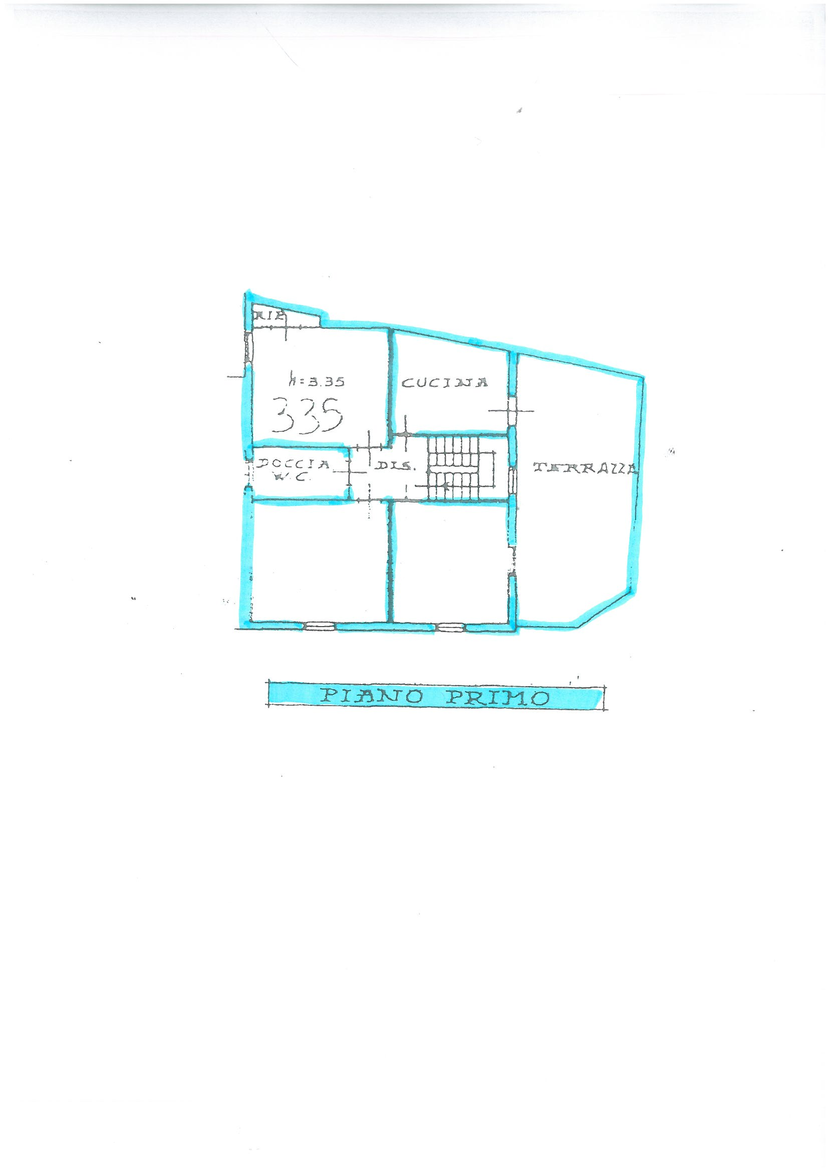 Planimetria 1/2 per rif. S1444