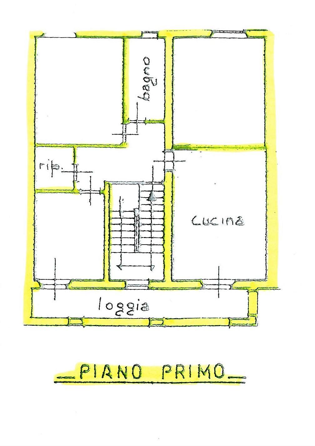 Planimetria 1/2 per rif. S1447