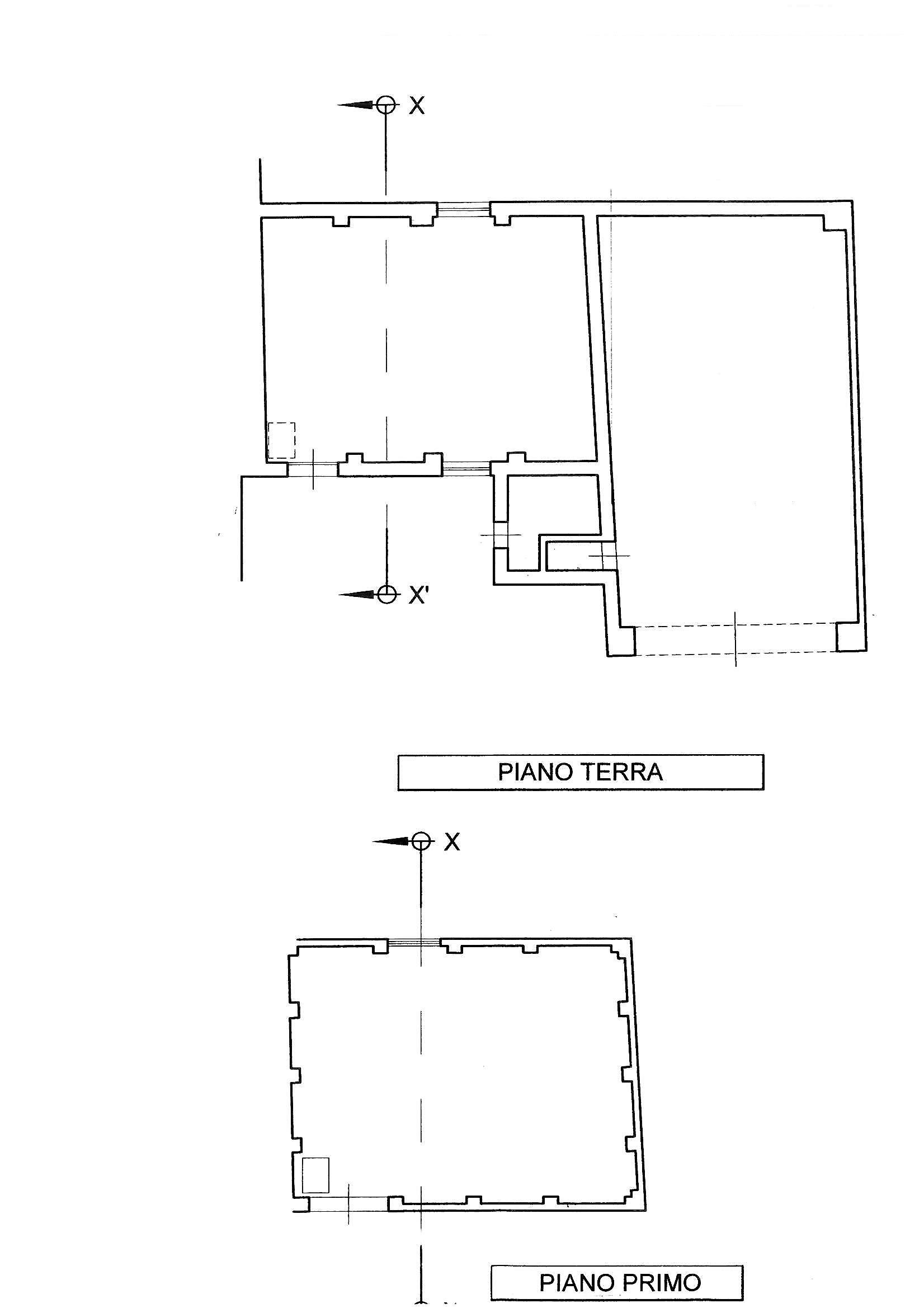 Planimetria 1/2 per rif. S1448