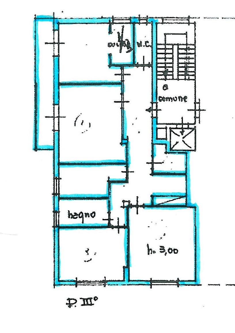 Planimetria 1/1 per rif. S1455