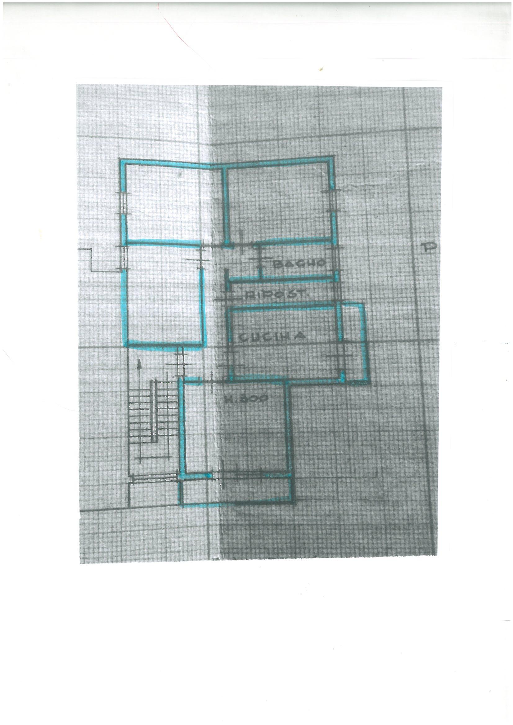 Planimetria 1/1 per rif. S1456