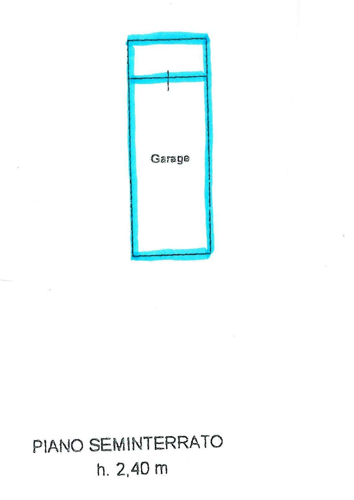 Planimetria 1/2 per rif. S1461
