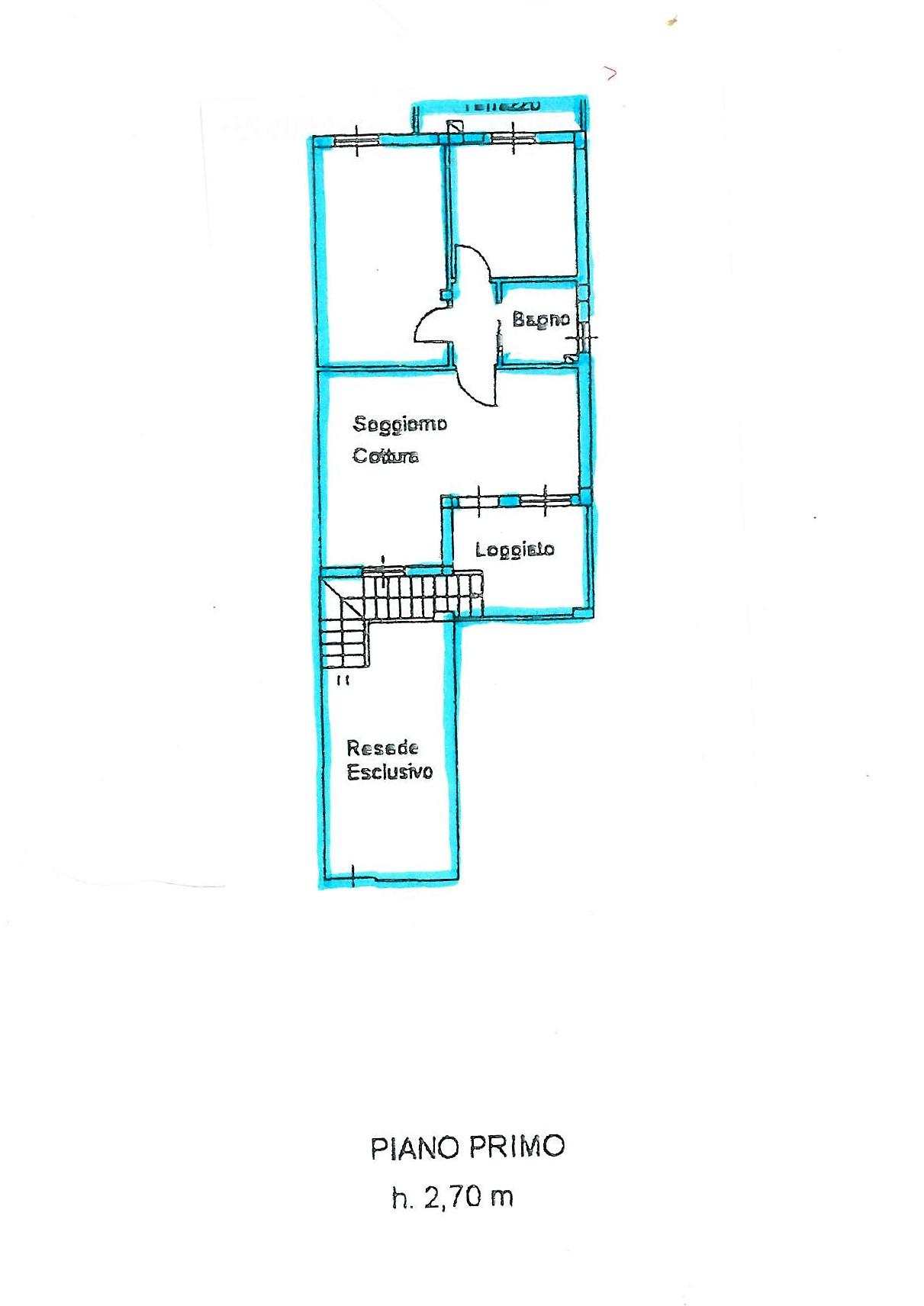 Planimetria 2/2 per rif. S1461