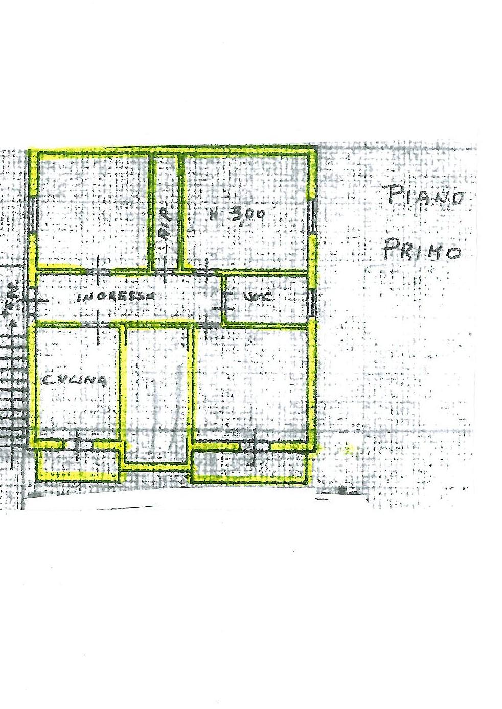 Planimetria 1/2 per rif. S1472