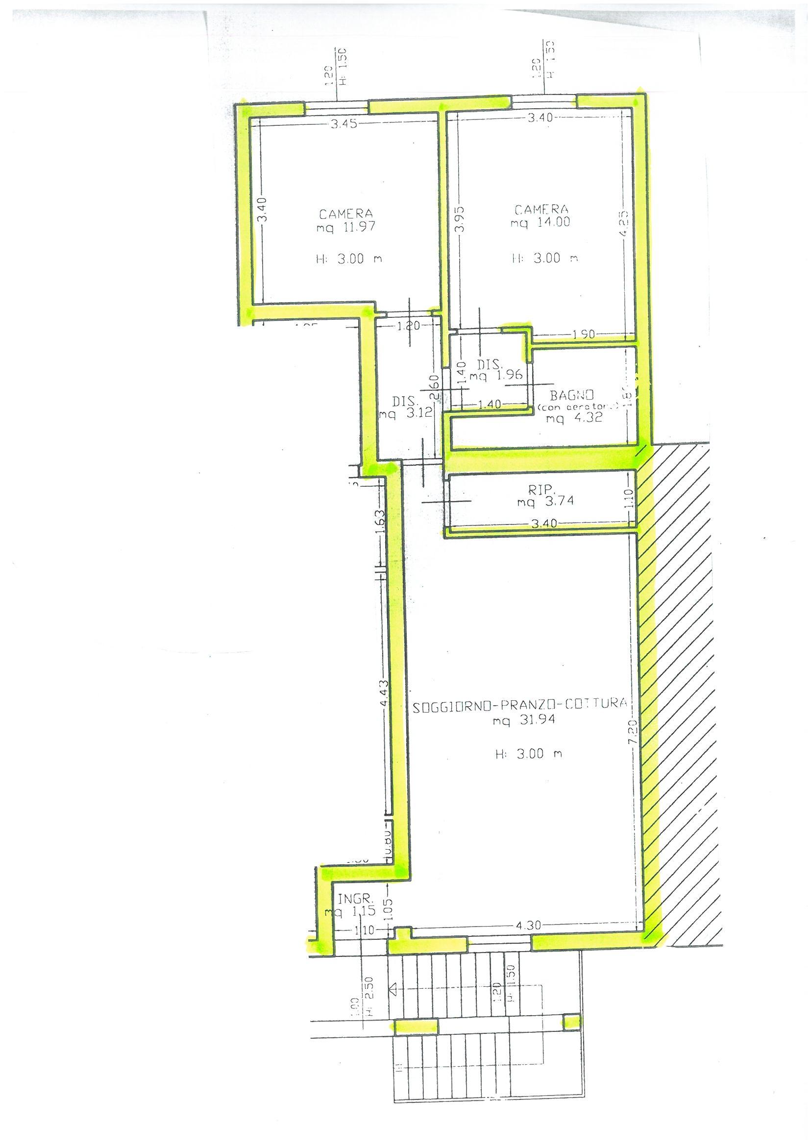 Planimetria 1/1 per rif. S1492