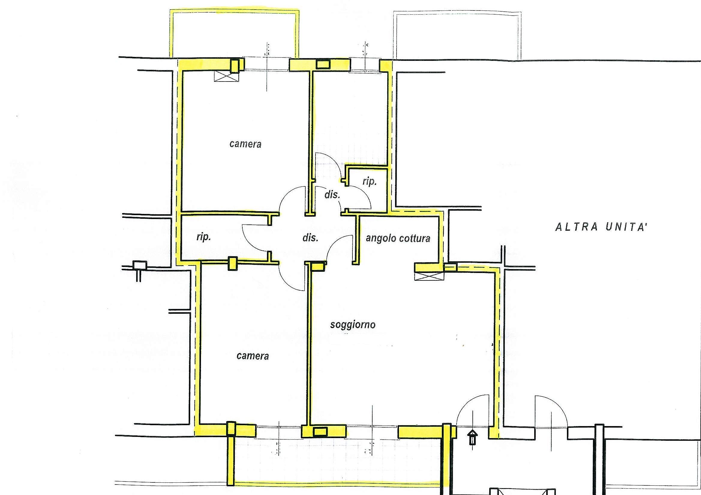 Planimetria 1/1 per rif. S1509
