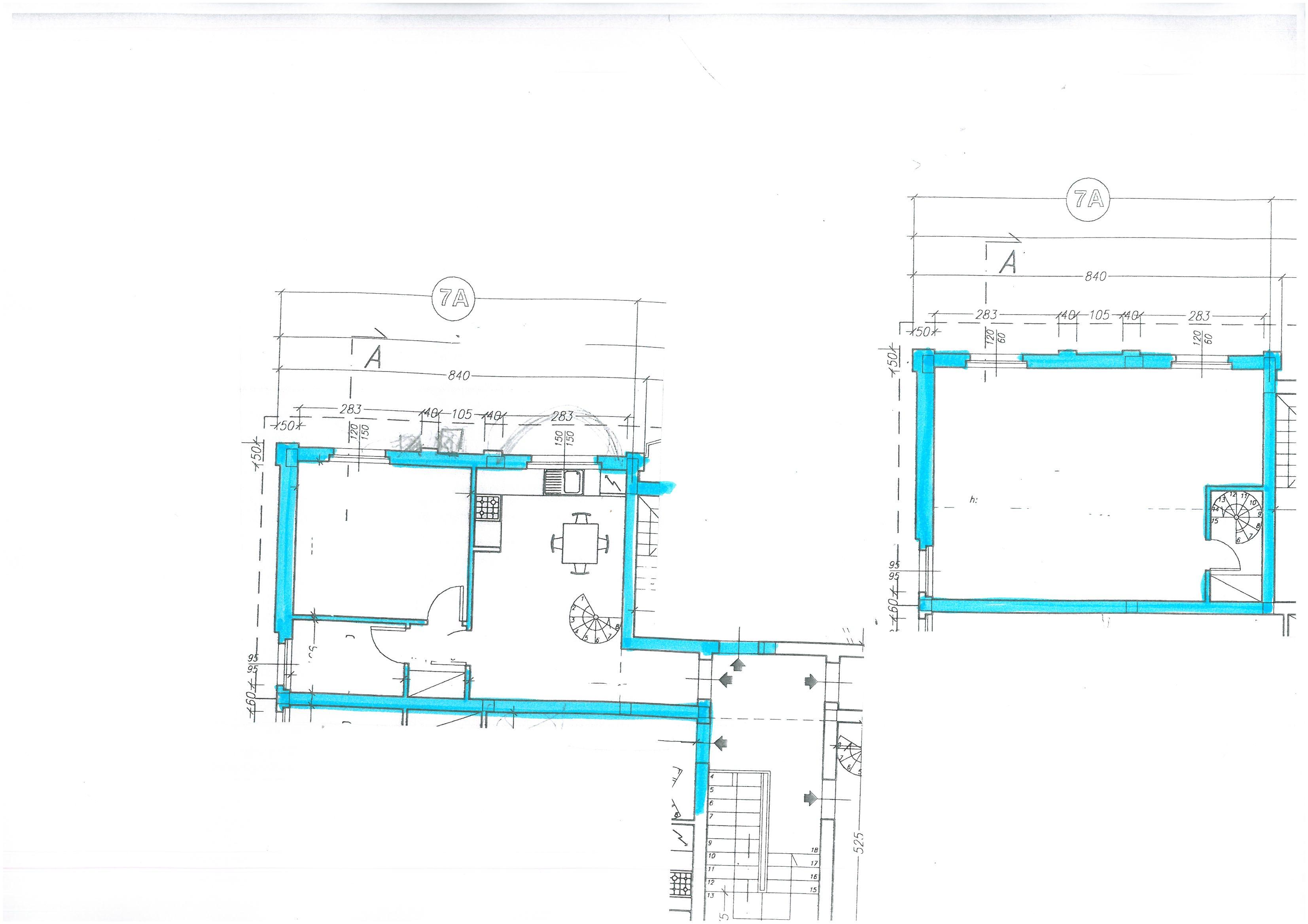 Planimetria 1/1 per rif. S1512