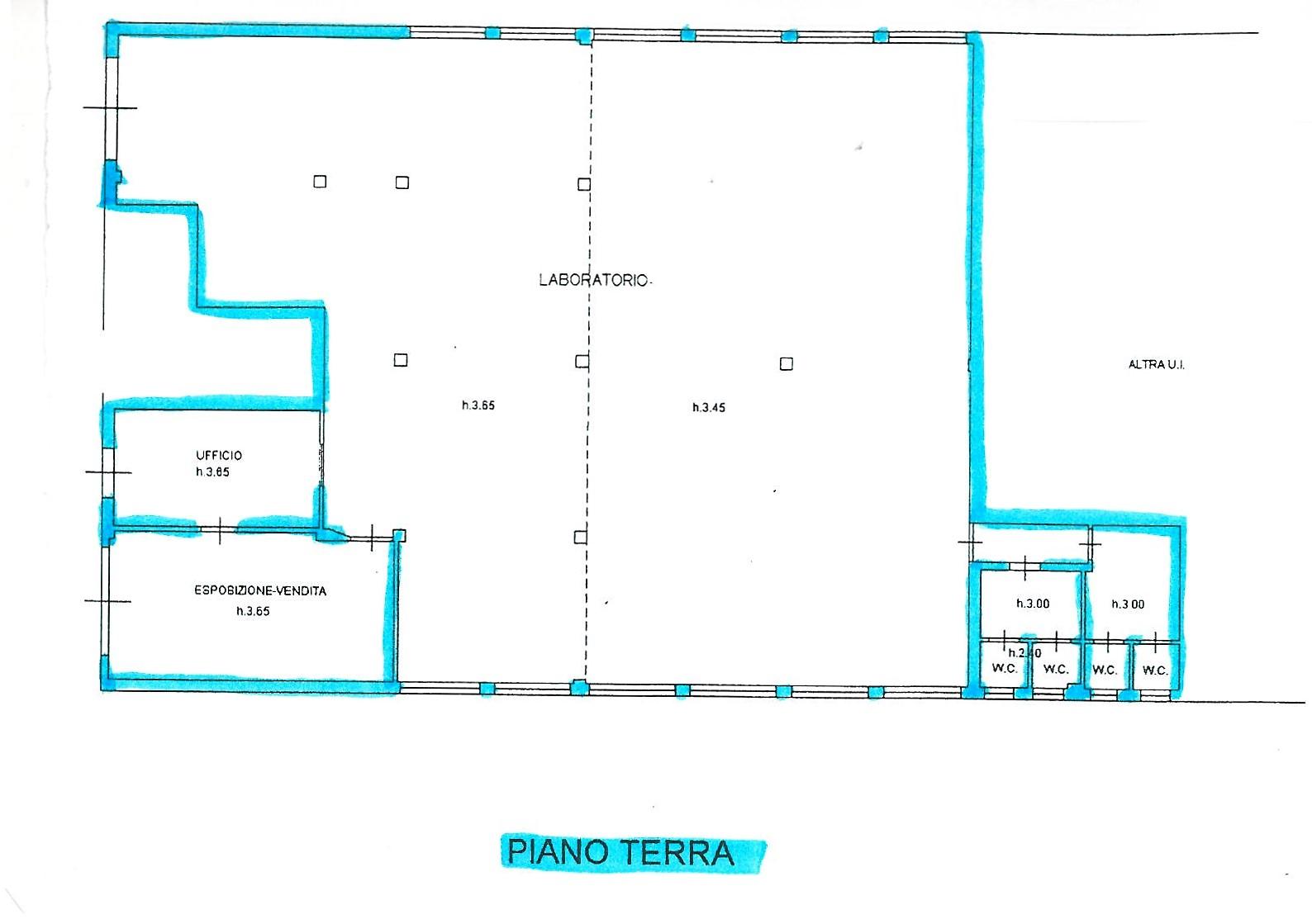 Planimetria 1/1 per rif. S1525