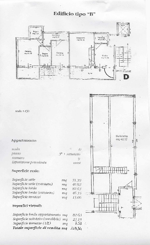 Planimetria /1 per rif. 126