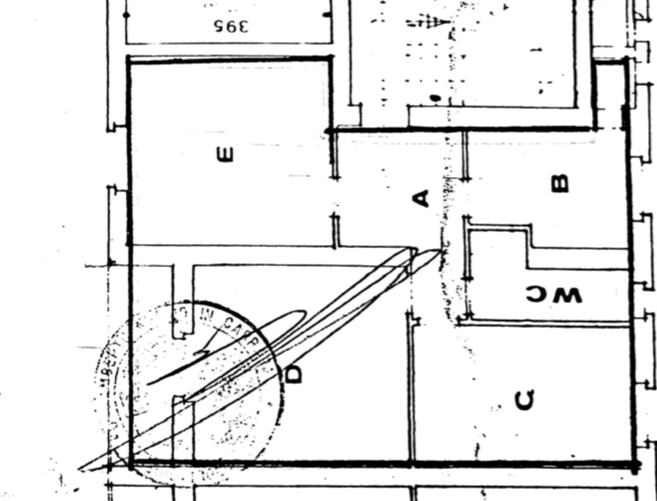 Planimetria 1/1 per rif. FED-007
