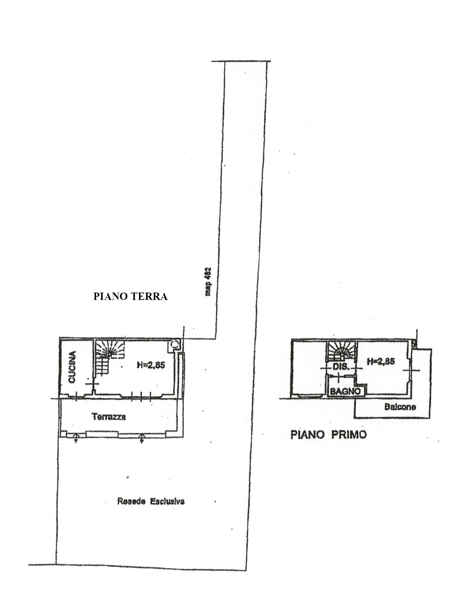 Planimetria 2/3 per rif. 143