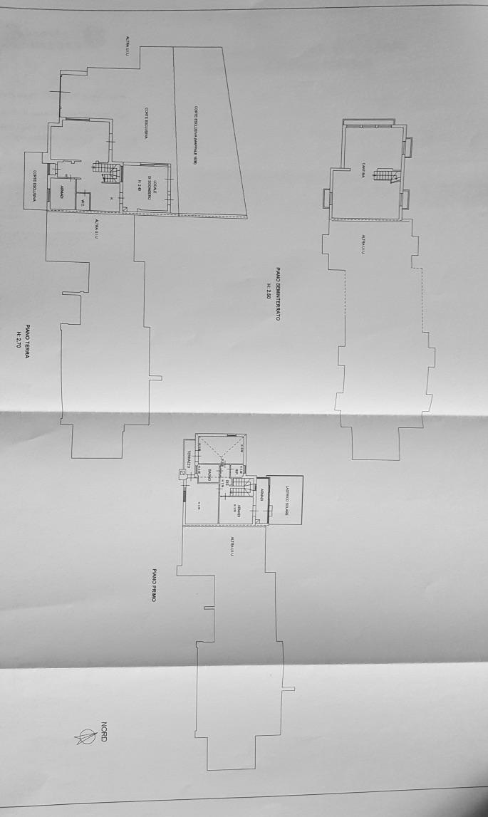 Planimetria /1 per rif. 148