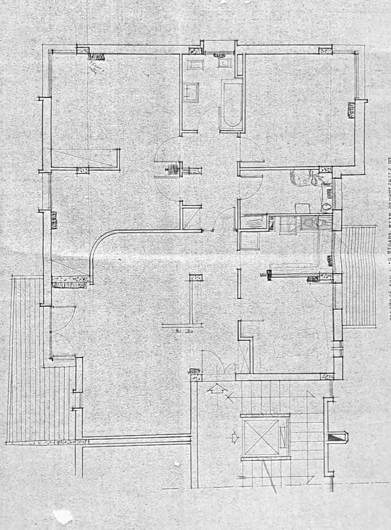 Planimetria 1/1 per rif. FED-001