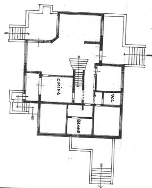 Planimetria 1/3 per rif. FED-012
