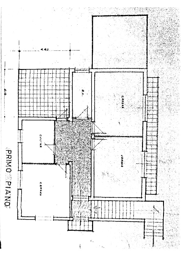 Planimetria /1 per rif. MAL164