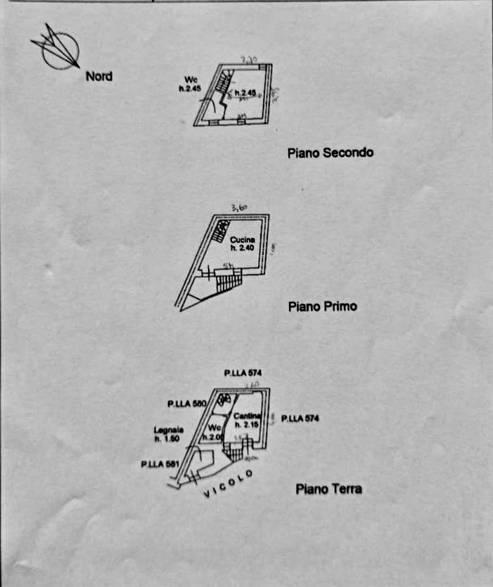 Planimetria /1 per rif. MAL176