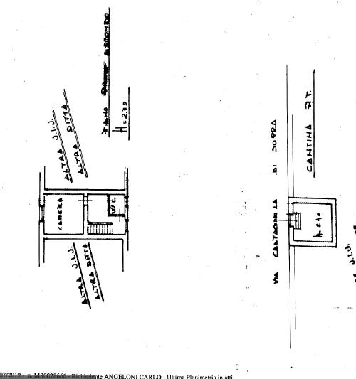 Planimetria /3 per rif. MAL191