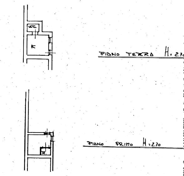 Planimetria 2/3 per rif. MAL191