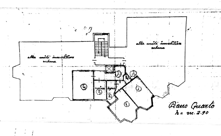 Planimetria /1 per rif. MAL195