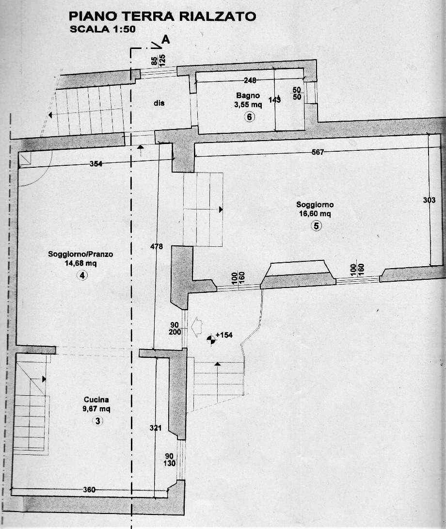 Planimetria 2/3 per rif. CC131