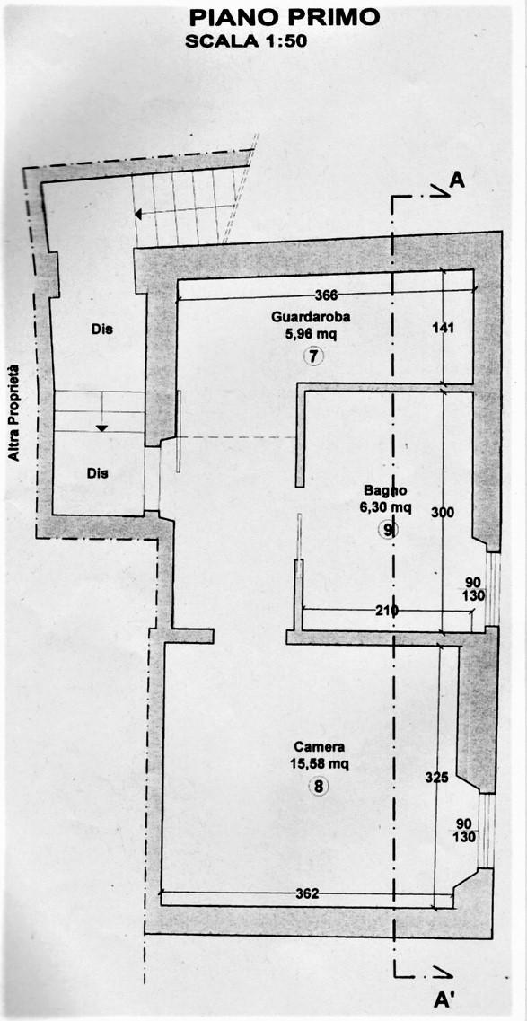 Planimetria 3/3 per rif. CC131
