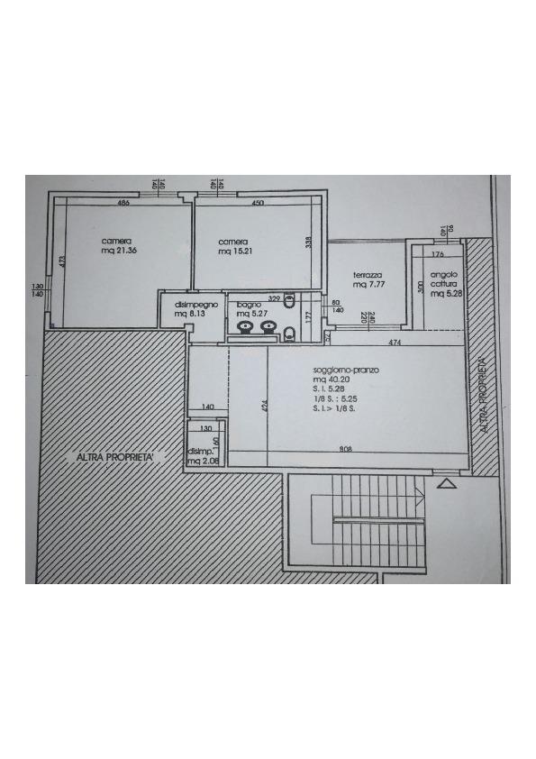 Planimetria /1 per rif. CC156