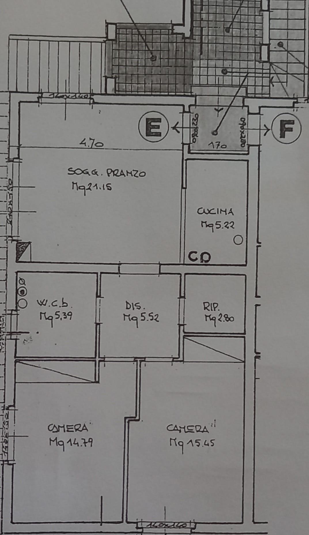 Planimetria 1/1 per rif. CC340
