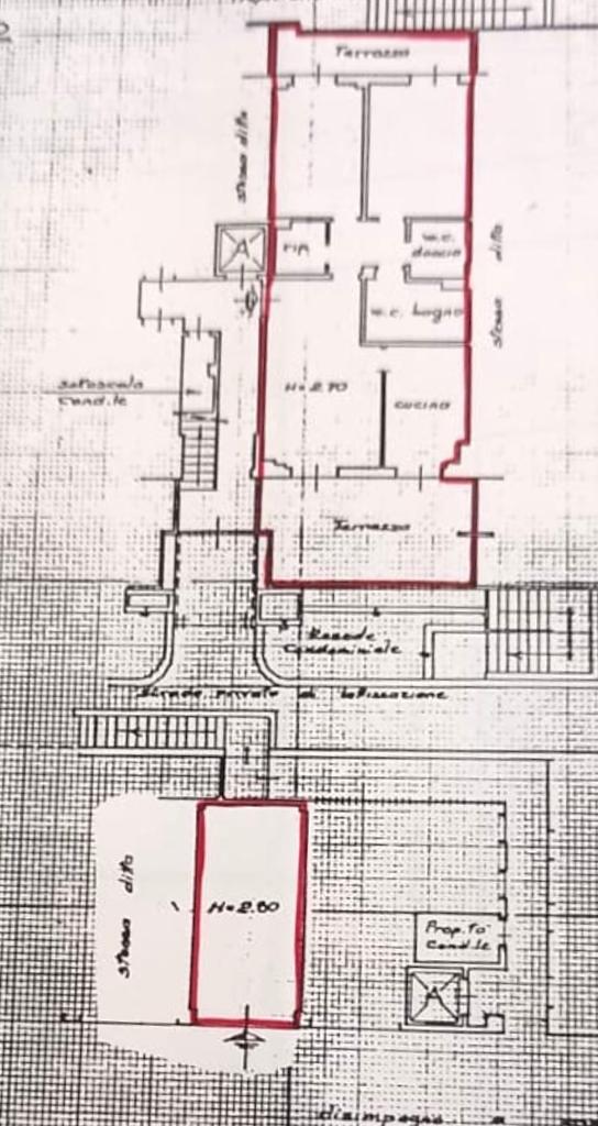 Appartamento in vendita, rif. CC356 (Planimetria 1/1)