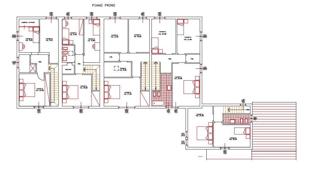 Planimetria 2/3 per rif. 404