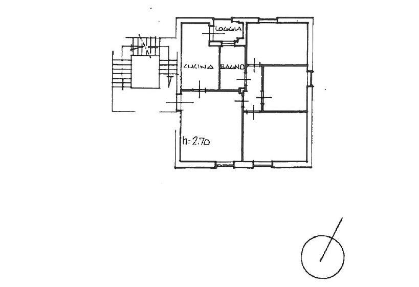 Planimetria 1/1 per rif. 617