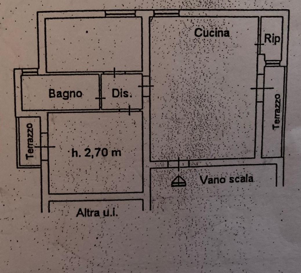 Planimetria 1/1 per rif. 627