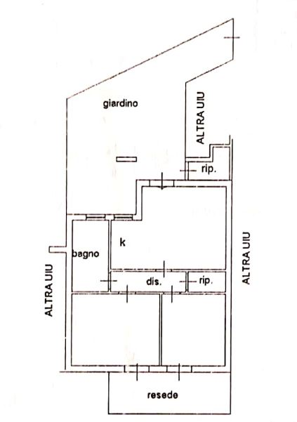 Planimetria 1/1 per rif. 639