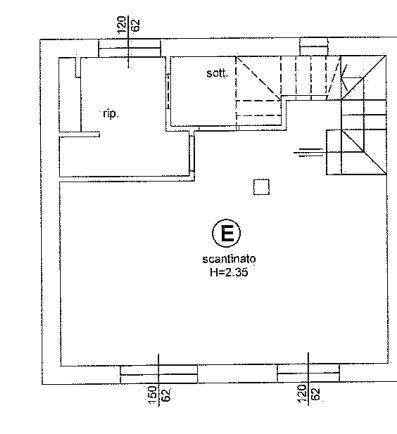 Planimetria 2/3 per rif. 646