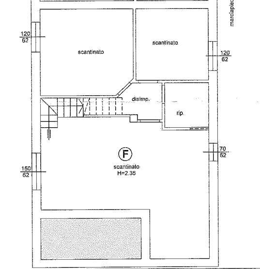 Planimetria 1/2 per rif. 647