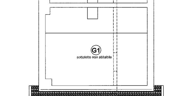 Planimetria 3/4 per rif. 648