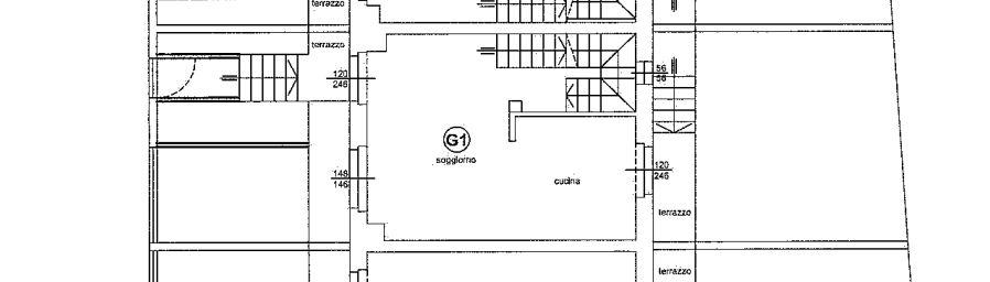 Planimetria 4/4 per rif. 648