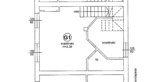 Planimetria 2/4 per rif. 648