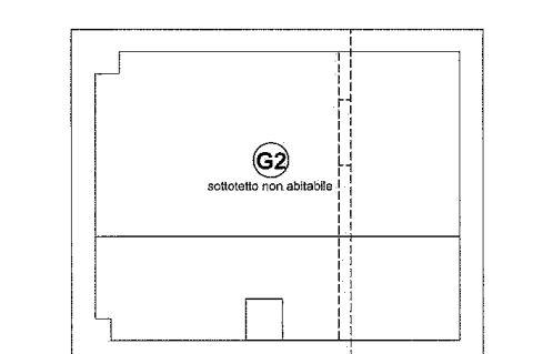Planimetria 3/4 per rif. 649