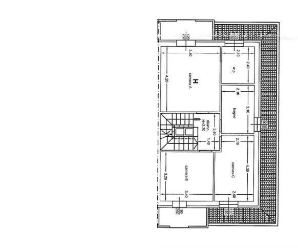 Planimetria 2/3 per rif. 650