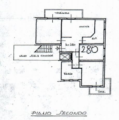 Planimetria 1/1 per rif. 792
