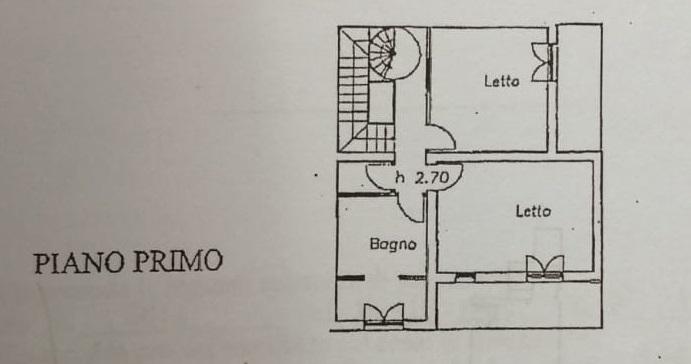 Planimetria 2/3 per rif. 799
