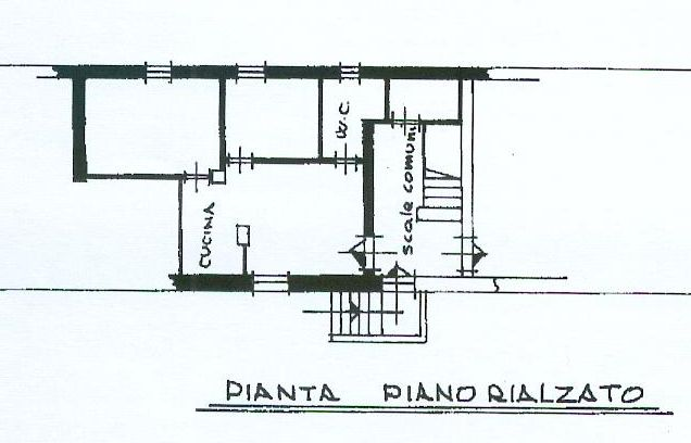 Planimetria 1/1 per rif. AP160